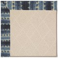 Capel Rugs Creative Concepts White Wicker - Java Journey Indigo (460) Octagon 6