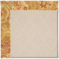 Capel Rugs Creative Concepts White Wicker - Tuscan Vine Adobe (830) Octagon 6