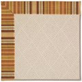 Capel Rugs Creative Concepts White Wicker - Vera Cruz Samba (735) Octagon 10