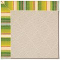 Capel Rugs Creative Concepts White Wicker - Kalani Fresco (239) Octagon 12