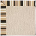 Capel Rugs Creative Concepts White Wicker - Granite Stripe (335) Runner 2