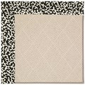 Capel Rugs Creative Concepts White Wicker - Coral Cascade Ebony (385) Runner 2