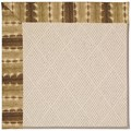 Capel Rugs Creative Concepts White Wicker - Java Journey Chestnut (750) Rectangle 3