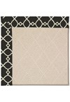 Capel Rugs Creative Concepts White Wicker - Arden Black (346) Rectangle 4' x 6' Area Rug