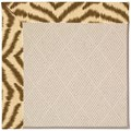Capel Rugs Creative Concepts White Wicker - Couture King Chestnut (756) Rectangle 7