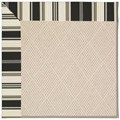 Capel Rugs Creative Concepts White Wicker - Down The Lane Ebony (370) Rectangle 8