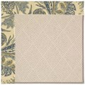 Capel Rugs Creative Concepts White Wicker - Cayo Vista Ocean (425) Rectangle 8