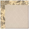 Capel Rugs Creative Concepts White Wicker - Cayo Vista Graphic (315) Rectangle 8