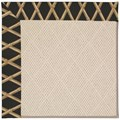 Capel Rugs Creative Concepts White Wicker - Bamboo Coal (356) Rectangle 8