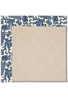 Capel Rugs Creative Concepts White Wicker - Batik Indigo Blue (415) Rectangle 8' x 10' Area Rug