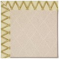 Capel Rugs Creative Concepts White Wicker - Bamboo Rattan (706) Rectangle 9