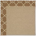 Capel Rugs Creative Concepts Sisal - Arden Chocolate (746) Octagon 4