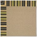 Capel Rugs Creative Concepts Sisal - Vera Cruz Coal (350) Octagon 6