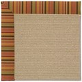 Capel Rugs Creative Concepts Sisal - Tuscan Stripe Adobe (825) Octagon 8