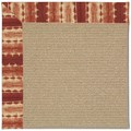 Capel Rugs Creative Concepts Sisal - Java Journey Henna (580) Octagon 12
