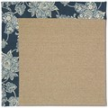 Capel Rugs Creative Concepts Sisal - Bandana Indigo (465) Rectangle 4