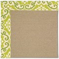 Capel Rugs Creative Concepts Sisal - Shoreham Kiwi (220) Rectangle 5