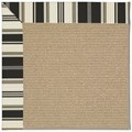 Capel Rugs Creative Concepts Sisal - Down The Lane Ebony (370) Rectangle 8