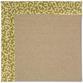 Capel Rugs Creative Concepts Sisal - Coral Cascade Avocado (225) Rectangle 8