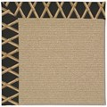 Capel Rugs Creative Concepts Sisal - Bamboo Coal (356) Rectangle 8