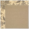 Capel Rugs Creative Concepts Sisal - Cayo Vista Graphic (315) Rectangle 12