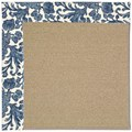 Capel Rugs Creative Concepts Sisal - Batik Indigo (415) Rectangle 12