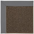 Capel Rugs Creative Concepts Java Sisal - Canvas Charcoal (355) Octagon 4