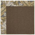 Capel Rugs Creative Concepts Java Sisal - Bahamian Breeze Ocean (420) Octagon 4
