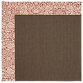 Capel Rugs Creative Concepts Java Sisal - Imogen Cherry (520) Octagon 4