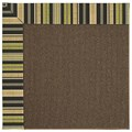 Capel Rugs Creative Concepts Java Sisal - Vera Cruz Coal (350) Octagon 6