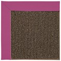 Capel Rugs Creative Concepts Java Sisal - Canvas Hot Pink (515) Octagon 8
