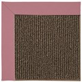 Capel Rugs Creative Concepts Java Sisal - Canvas Coral (505) Octagon 10