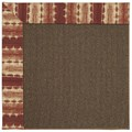 Capel Rugs Creative Concepts Java Sisal - Java Journey Henna (580) Octagon 12