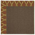 Capel Rugs Creative Concepts Java Sisal - Bamboo Cinnamon (856) Runner 2