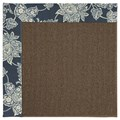 Capel Rugs Creative Concepts Java Sisal - Bandana Indigo Blue (465) Rectangle 4