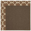 Capel Rugs Creative Concepts Java Sisal - Arden Chocolate (746) Rectangle 4