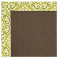 Capel Rugs Creative Concepts Java Sisal - Shoreham Kiwi (220) Rectangle 5