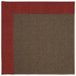 Capel Rugs Creative Concepts Java Sisal - Canvas Cherry (537) Rectangle 7' x 9' Area Rug