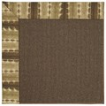 Capel Rugs Creative Concepts Java Sisal - Java Journey Chestnut (750) Rectangle 8