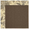 Capel Rugs Creative Concepts Java Sisal - Cayo Vista Graphic (315) Rectangle 9