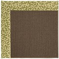 Capel Rugs Creative Concepts Java Sisal - Coral Cascade Avocado (225) Rectangle 12