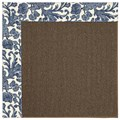 Capel Rugs Creative Concepts Java Sisal - Batik Indigo (415) Rectangle 12