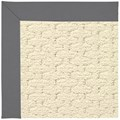 Capel Rugs Creative Concepts Sugar Mountain - Canvas Charcoal (355) Octagon 4