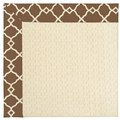Capel Rugs Creative Concepts Sugar Mountain - Arden Chocolate (746) Octagon 4
