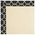 Capel Rugs Creative Concepts Sugar Mountain - Arden Black (346) Octagon 8