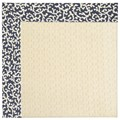 Capel Rugs Creative Concepts Sugar Mountain - Coral Cascade Navy (450) Octagon 10