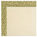 Capel Rugs Creative Concepts Sugar Mountain - Coral Cascade Avocado (225) Rectangle 8