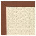 Capel Rugs Creative Concepts Sugar Mountain - Linen Chili (845) Rectangle 8