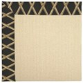 Capel Rugs Creative Concepts Beach Sisal - Bamboo Coal (356) Octagon 4