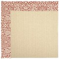 Capel Rugs Creative Concepts Beach Sisal - Imogen Cherry (520) Octagon 6
